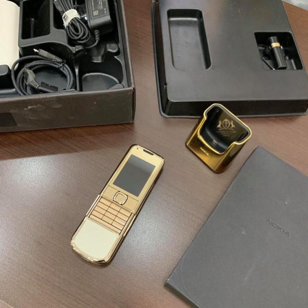 Nokia 8800 Gold Da Trang