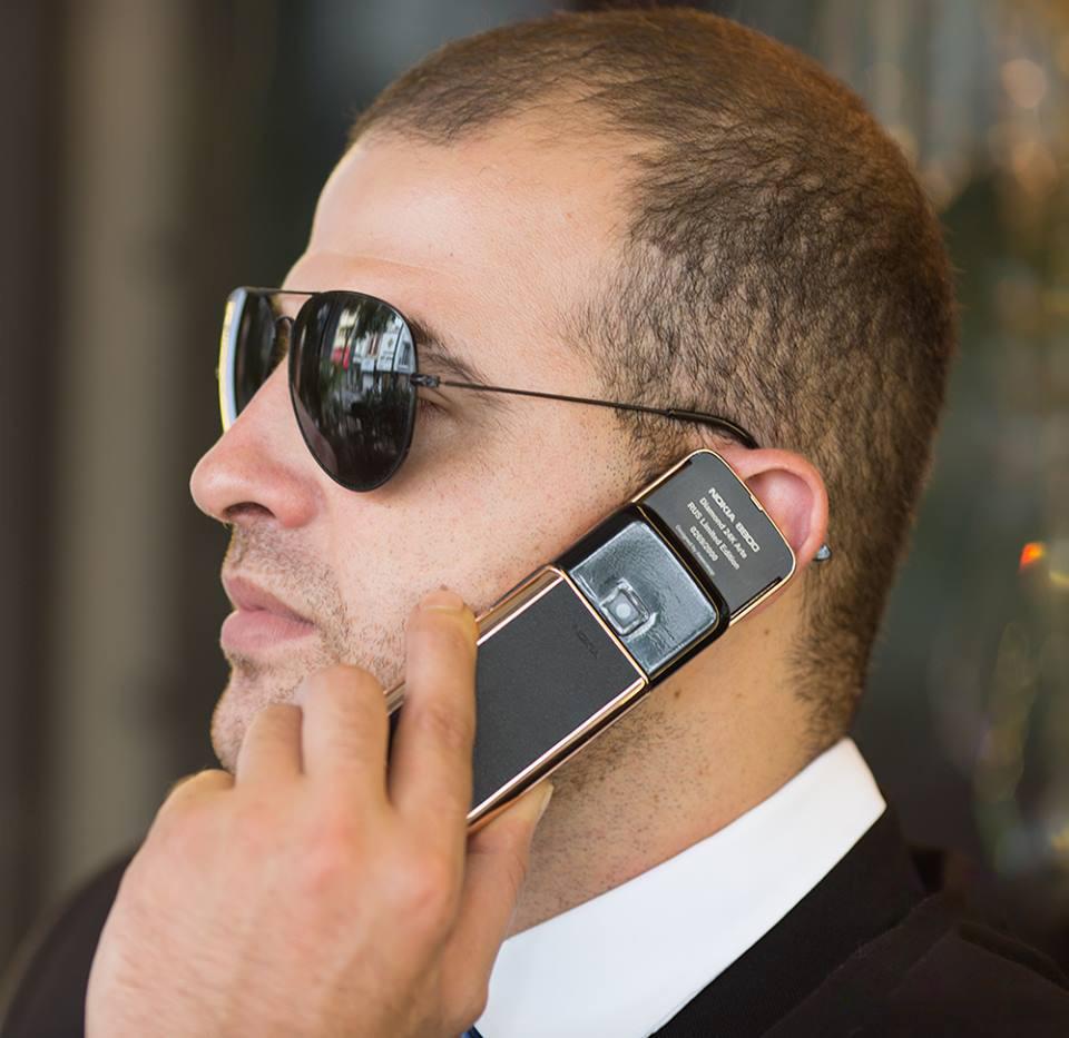 Cực kỳ bảo mật với tính năng chống ồn, lọc âm tuyệt vời của Nokia 8800