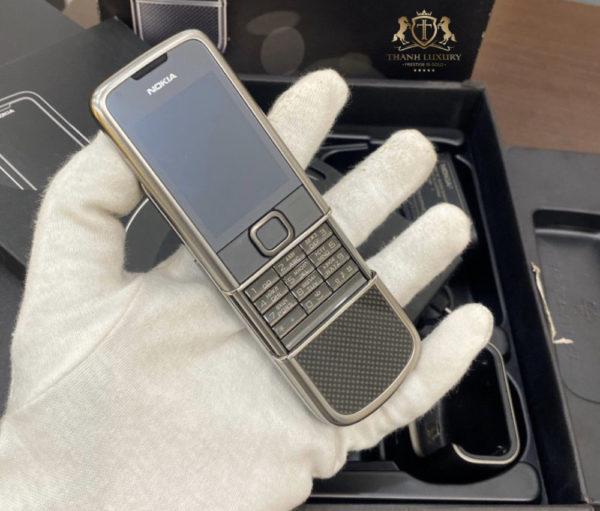 Nokia 8800 Carbon Arte Full Box Like New 99