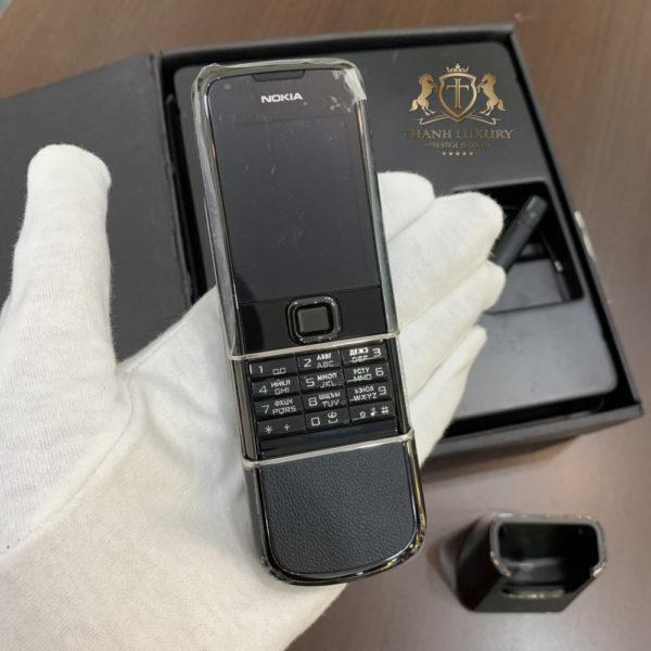 Nokia 8800 Sapphire Black Fullbox New 100