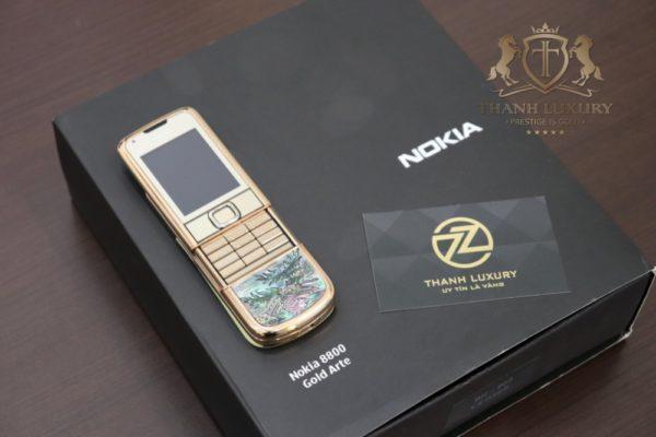 Nokia 8800e 4g Rose Gold 24k Long Phung Full Box 2