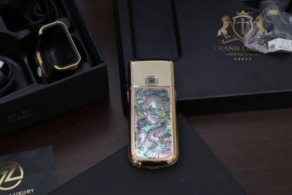 Nokia 8800e 4g Rose Gold 24k Long Phung Full Box 3