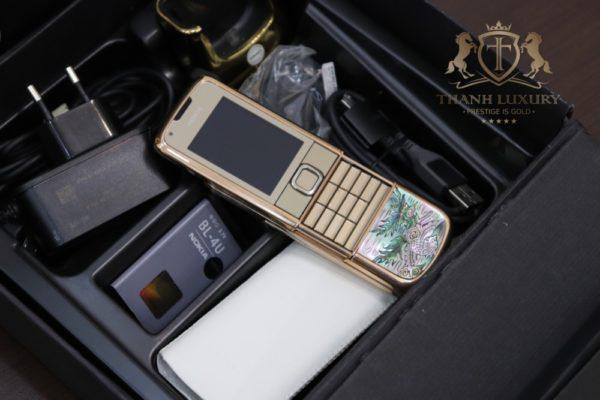 Nokia 8800e 4g Rose Gold 24k Long Phung Full Box