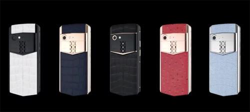 Vertu trở lại, ra mắt điện thoại hạng sang Vertu Aster P 2018.