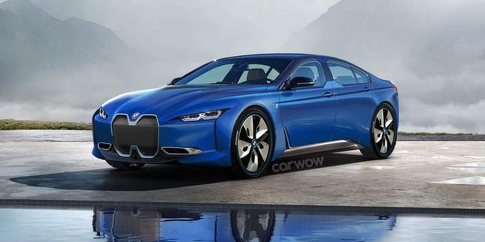 BMW rậm rịch ra mắt xe điện coupe 4 cửa mới