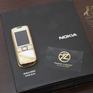 Nokia 8800e 4g Rose Gold 24k Kham Trai Full Box 3
