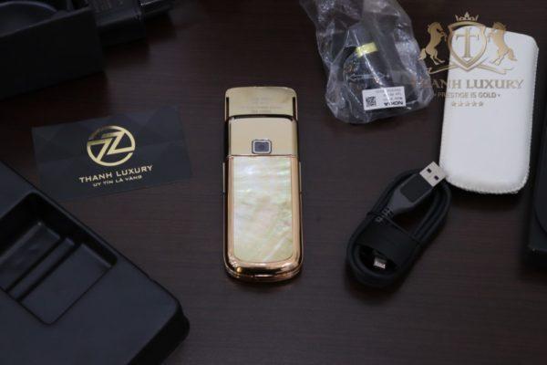 Nokia 8800e 4g Rose Gold 24k Kham Trai Full Box 4