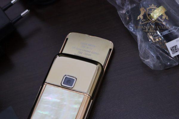 Nokia 8800e 4g Rose Gold 24k Kham Trai Full Box 8