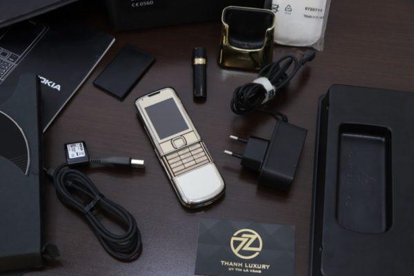 Nokia 8800e Gold 4g Zin Full Box Like New 98