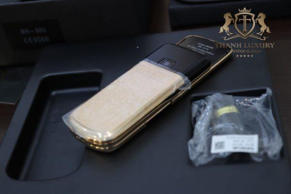Nokia 8800e Rose Gold 24k Arte Black Full Box 3