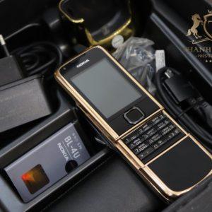 Nokia 8800e Rose Gold 24k Arte Black Full Box
