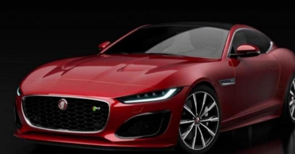 Jaguar F-Type facelift xuất hiện với những hình ảnh đầu tiên