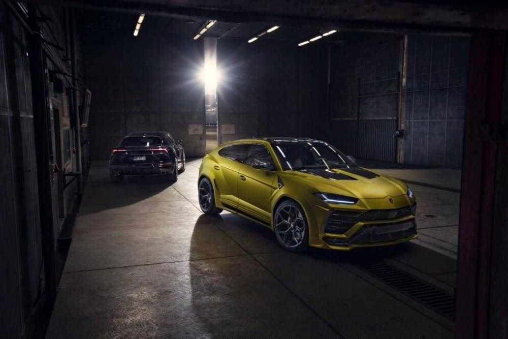 Novitec Esteso ra mắt gói độ thân rộng cho Lamborghini Urus
