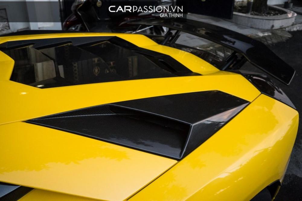 Lamborghini Aventador S độc nhất Việt Nam được nâng cấp với gói độ đắt giá