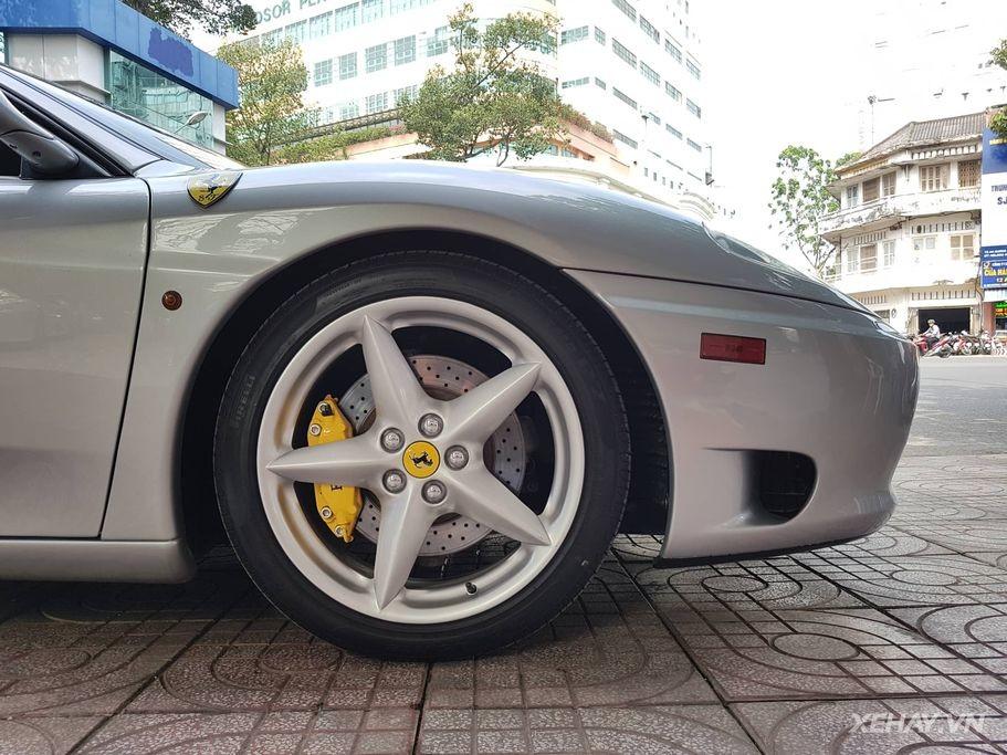 Hàng hiếm Ferrari F360 Spider bất ngờ tái xuất sau thời gian dài ở ẩn tại Sài Thành