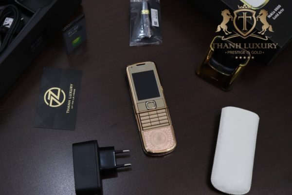 Nokia 8800e 4g Rose Gold 24k Kham Trong Dong Full Box Like New 2