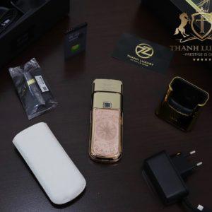 Nokia 8800e 4g Rose Gold 24k Kham Trong Dong Full Box Like New 3