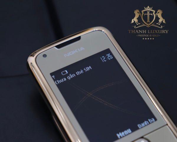 Nokia 8800e 4g Rose Gold 24k Kham Trong Dong Full Box Like New 4