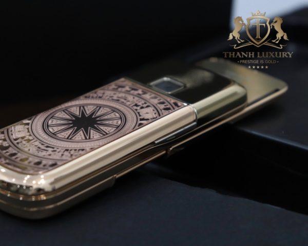 Nokia 8800e 4g Rose Gold 24k Kham Trong Dong Full Box Like New 5