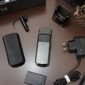 Nokia 8800e Arte Black Full Box Zin Like New 98 2