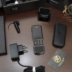 Nokia 8800e Arte Black Full Box Zin Like New 98