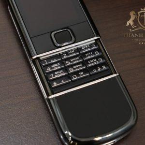 Nokia 8800e Arte Black Full Box Zin Like New 98 4