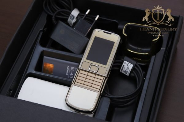 Nokia 8800e Gold Zin Full Box Like New 98 2