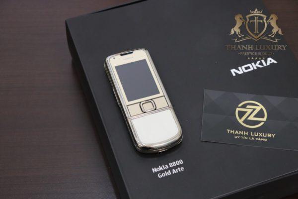 Nokia 8800e Gold Zin Full Box Like New 98