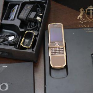 Nokia 8800e Rose Gold 24k Saphire Brown Full Box