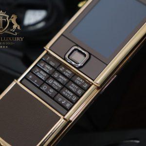Nokia 8800e Rose Gold 24k Saphire Brown Full Box 4