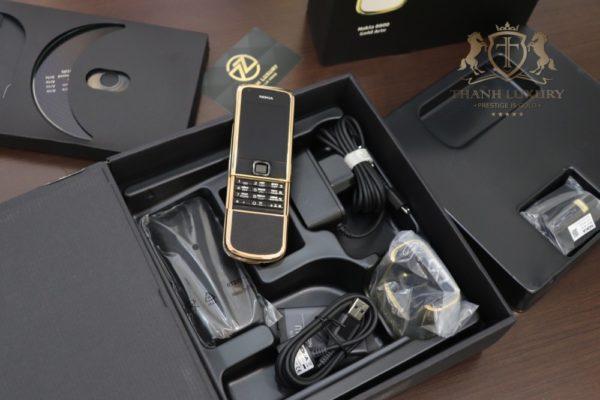 Nokia 8800e Saphire Black Rose Gold 24k Full Box Like New 2