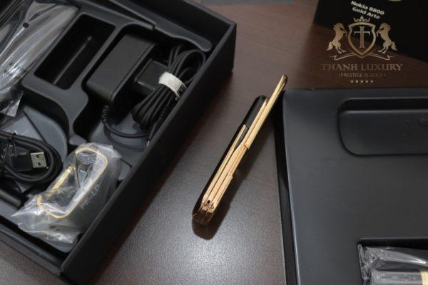 Nokia 8800e Saphire Black Rose Gold 24k Full Box Like New 5