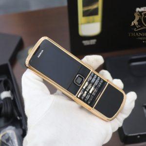 Nokia 8800e Saphire Black Rose Gold 24k Full Box Like New 8