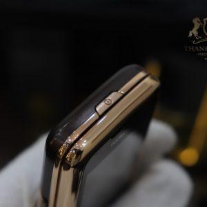 Nokia 8800e Saphire Brown Rose Gold 24k Diamond Key Full Box Like New 7