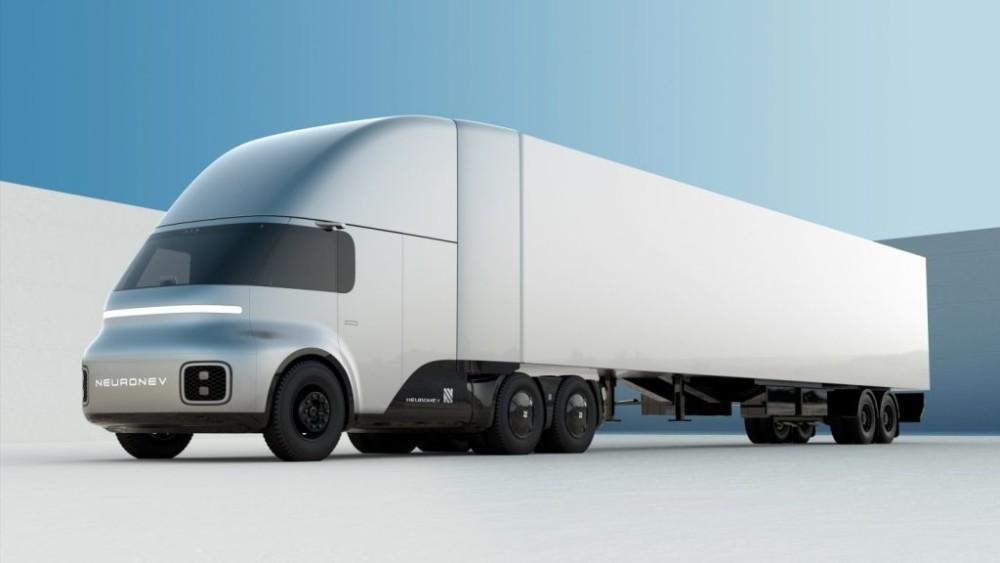Neutron T/One – xe đa dụng chạy điện cạnh tranh Tesla Cybertruck