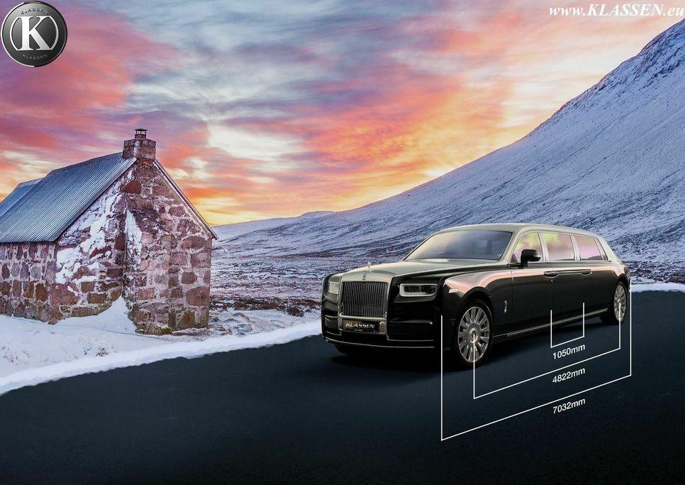 """Chiêm ngưỡng """"siêu limo"""" Rolls-Royce Phantom bọc giáp dài hơn 7 mét"""