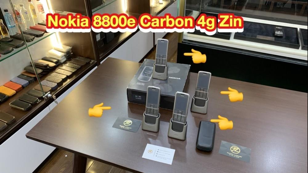 Nokia 8800e Carbon 4g Chinh Hang Gia Tot