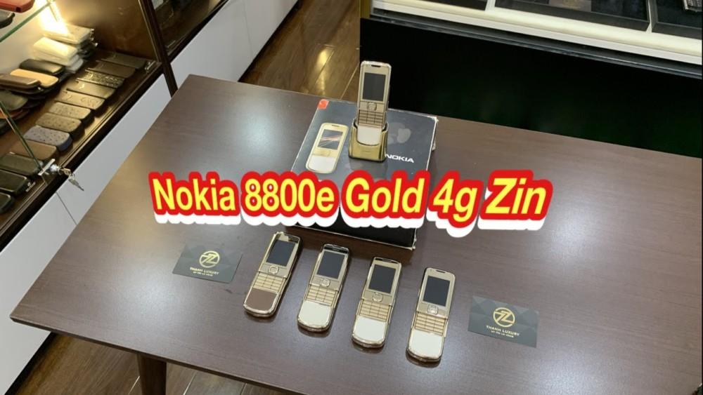 Nokia 8800e Gold 4g Zin Chinh Hang Gia Tot Tai Thanh Luxury