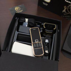 Nokia 8800e Rose Gold 24k Saphire Black Diamond Key Dragon Full Box Like New 2