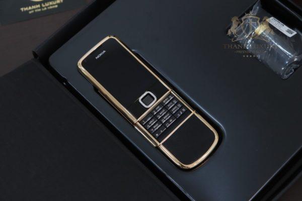 Nokia 8800e Rose Gold 24k Saphire Black Diamond Key Dragon Full Box Like New 3