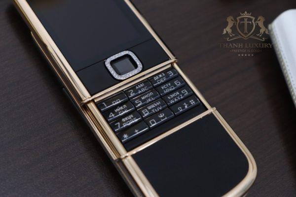 Nokia 8800e Rose Gold 24k Saphire Black Diamond Key Dragon Full Box Like New 5