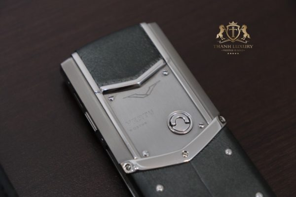Vertu Signature S Pure Silver Like New 98 5