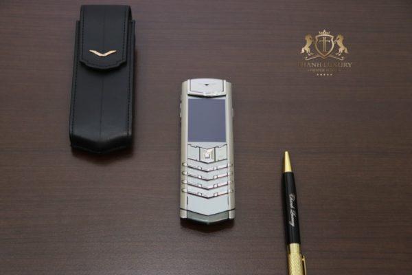 Vertu Signature S Pure Silver Like New 98