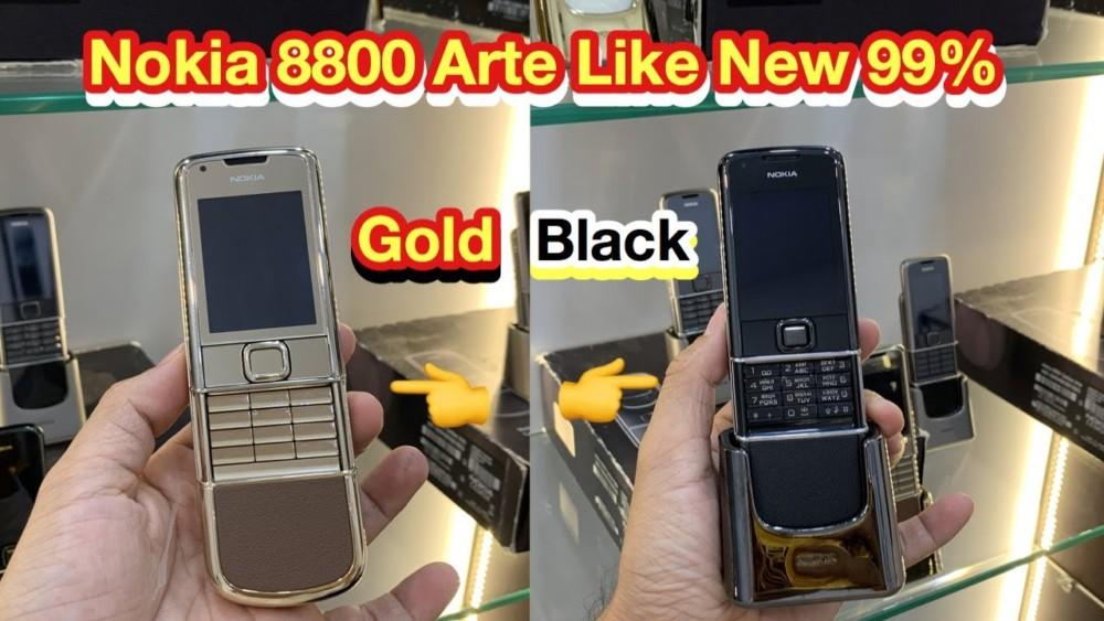 Nokia 8800e Gold Va 8800e Saphire Black Nguyen Zin Dep Keng 99
