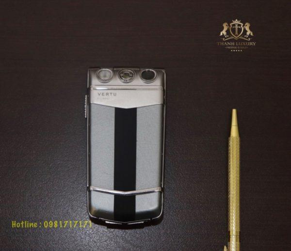 Vertu Ayxta Turismo Silver Black Like New 99 2