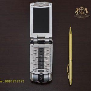 Vertu Ayxta Turismo Silver Black Like New 99 3