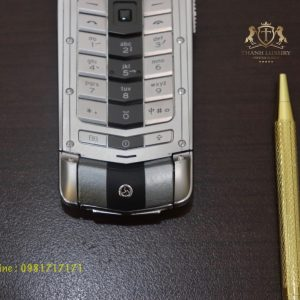 Vertu Ayxta Turismo Silver Black Like New 99 6