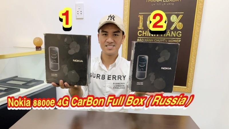 Mot Cap Nokia 8800e Carbon Full Box Zin Russia Dep Keng Gia Tot Cho Mua Dich Cv19