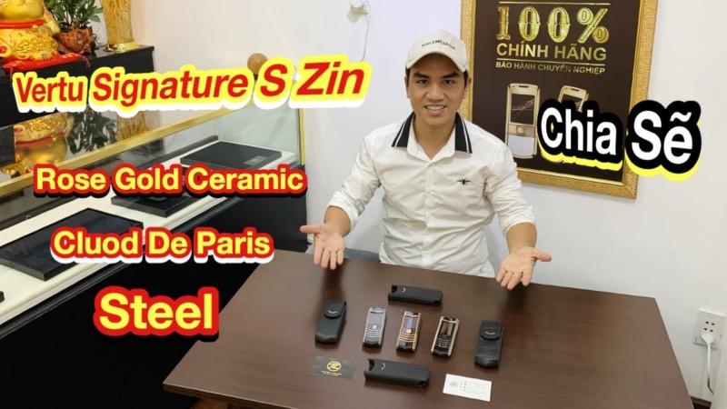 Phan Biet Vertu Signature S Steel Clous De Paris Va Vang Nguyen Khoi