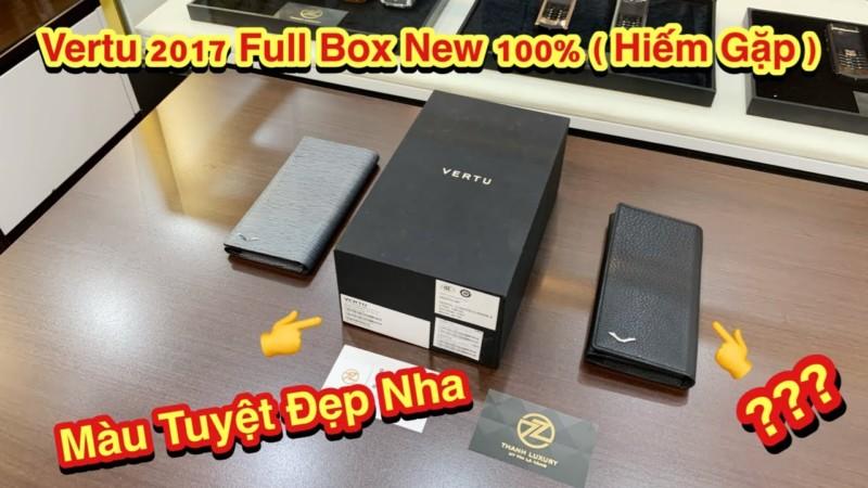 Chiec Vertu 2017 Full Box New 100 Mau Sieu Hiem Moi Anh Em Chiem Nguong